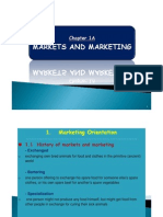 Chapt 1A - Markets and Mktg
