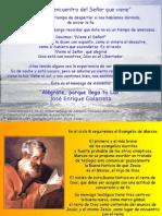 Adviento 1 Domingo -B- Con Los Ojos Del Espiritu Despiertos 27-11-11