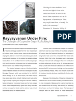 Kayvayvanan Under Fire