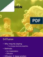 Diffusion in VLSI