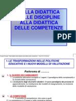 Dalla Didattica Delle Discipline Alla Didattica Delle Competenze