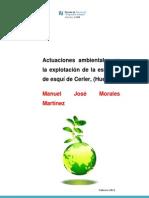Proyecto para las actuaciones ambientales en la explotación de la estación de esquí de Cerler (Huesca)