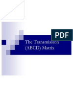 The Transmission _ABCD_ Matrix