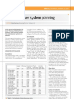 156 715 National Power System Planning