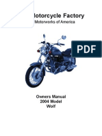 2004 Wolf Owners Manual
