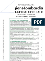 Linea Vita Regione Lombardia Feb 2004