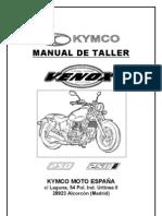 Manual de Taller Kymco Venox en Espa Ol