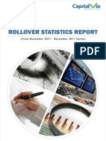 Rollover Statistics(From Nov 2011 to Dec 2011 Series)