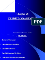 Chapter 28 Credit Management