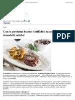 Con Le Proteine Buone Tonifichi i Muscoli e Ti Rimodelli Subito! | Obiettivo Benessere