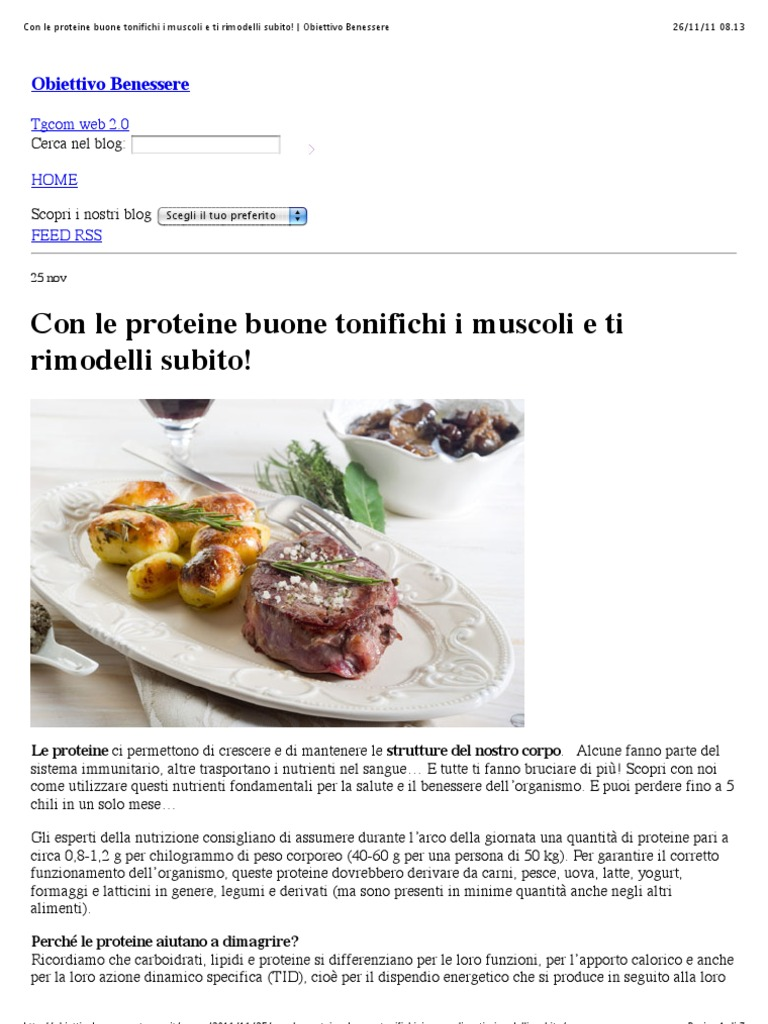 blog che dimagrisce 5 chili