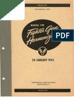Manual for Fighter Gun Harmonization