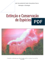 Extinção e Conservação de Espécies
