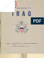 Short Guide to Iraq (40-45)