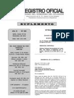 RO 583 20111124 Ley Fomento Ambiental y Optimización ingresos del Estado