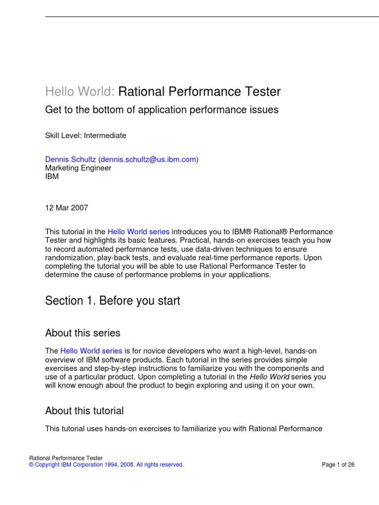 Rpt tutorial eclipse software world wide web baditri Gallery