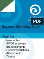 Business Marketing Study