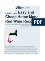 Make Wine at Home