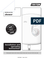 Triton Shower Manual