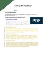 Strategic Management Assigentment