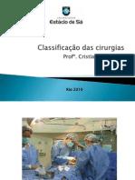 Classificação das cirurgias