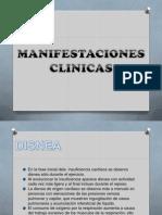 Manifestaciones Clinicas de La Insuficiencia Cardiaca
