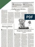 Aquel peligro para Mexico