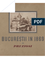 Domenico Preziosi - Bucurestii in 1869