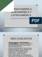 CLASE 1 QUÉ ES HISPANOAMÉRICA, IBEROAMÉRICA Y LATINOAMÉRICA