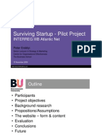 Surviving Start Up 15 Nov 06