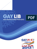 GayLib, nos propositions pour 2012