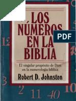Johnston, Robert - Los Numeros en La Biblia