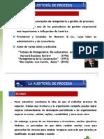 Auditoria de Proceso