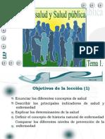 1.Concepto salud y salud pública