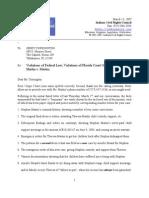 DCF CSE Letter