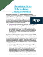 Epidemiología de las Enfermedades Inmunoprevenibles