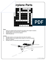 Airplane Parts Crossword