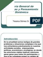 Teoria General de Sistemas y to Sistemico