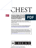 Respiratory and Related Management of Patients With Duchenne Muscular Dystrophy Undergoing Anesthesia or Sedation