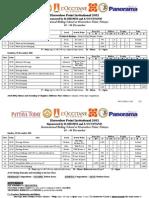 Schedule - HSP Invitational 2011