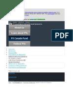 P3 Cache - Eligable Categories