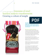 The people dimension of retail business analytics transformation