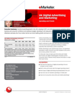 UK Digital Advertising and Marketing-Spending and Trends (2011)