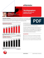 The Blogosphere-Colliding With Social and Mainstream Media