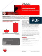Twitter Advertising-Four Marketers Test the New Ad Platform