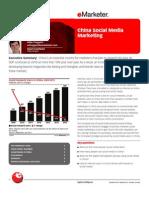 China Social Media Marketing
