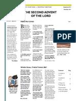 Anchor Your Soul Christian Newsletter November 2011