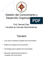 Gestión del Conocimiento y Desarrollo Organizacional