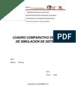 Comparativa de simulación de Sistemas