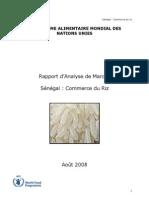 WFP enquete marché sénégal july 08